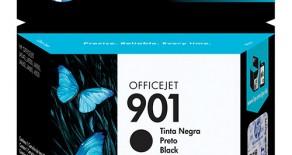CARTUCHO 901 PRETO ORIGINAL HP