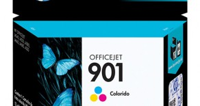 CARTUCHO 901 COLORIDO ORIGINAL HP