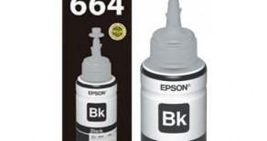 TINTA EPSON T664 BLACK ORIGINAL