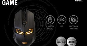 MOUSE OEX KILLER 4000DPI LED, MS-312