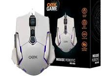 Mouse Gamer Oex Robotic 4000DPI – MS308